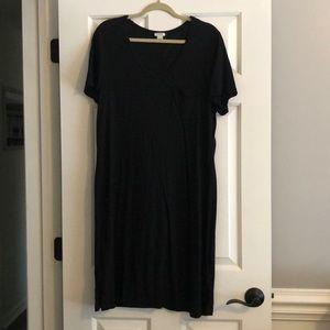 Large JCrew T-shirt dress